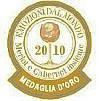Gold medal for the Bein Little Merlot 09 at the EMOZIONI DAL MONDO: MERLOT E CABERNET INSIEME 2010